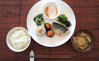 写真:朝食(例)