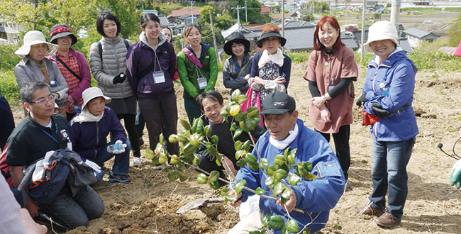 【終了】椿の実収穫と交流ツアー/ネパリ・バザーロ:受付終了(キャンセル待ち)