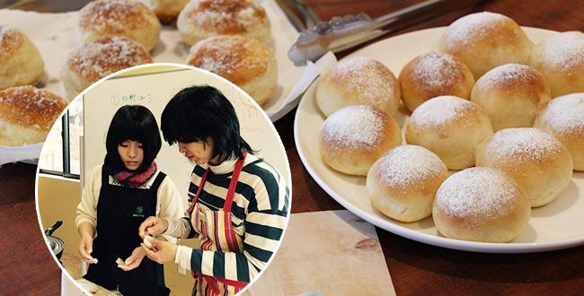 【終了】ポリ袋とフライパンでパンを焼こう! ~梶晶子さんのポリパン教室開催♪ 4月4日(土)
