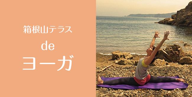 【終了】箱根山テラス de ヨーガ 「夕涼みヨーガ ~梅雨のプチ不調改善~」:7月16日(土)